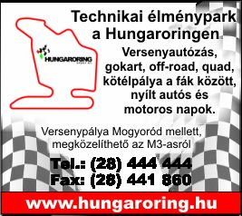 HUNGARORING SPORT RT.